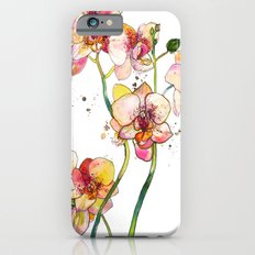 Pink Orchids iPhone 6s Slim Case