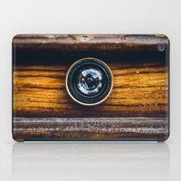 Peephole iPad Case