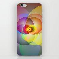 Colored Circles iPhone & iPod Skin