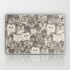just owls natural Laptop & iPad Skin