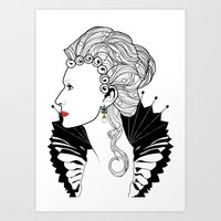 Elizabeth I. Art Print