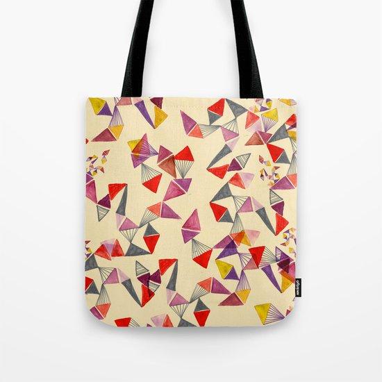 watercolour geometric shapes Tote Bag