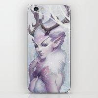 Reindeer Princess iPhone & iPod Skin
