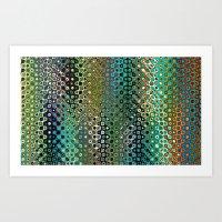 Pattern Multicolor Art Print