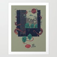 A World Within Art Print
