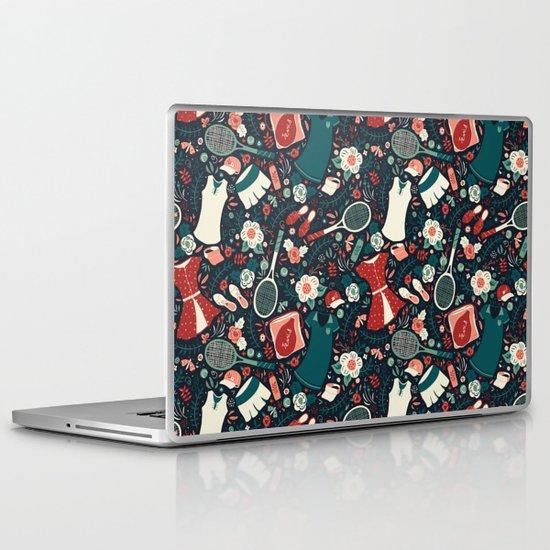Tennis Style Laptop & iPad Skin
