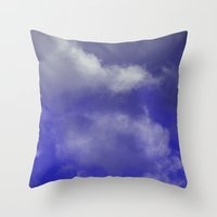 Grace Purple version Throw Pillow