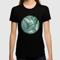 Palms Womens Fitted Tee Black SMALL