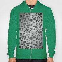 Boxes & Bubbles In Mono Hoody