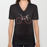 Race Bike Unisex V-Neck