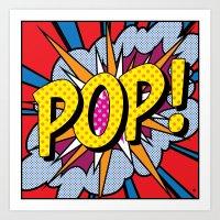 POP Art #4 Art Print