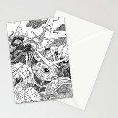 Cycloptic Samurai Stationery Cards