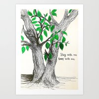 Sway With Me Art Print
