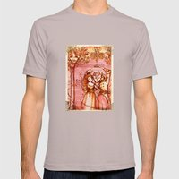 Much Ado About Nothing - Masquerade - Shakespeare Folio Illustration Mens Fitted Tee Cinder SMALL