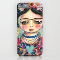 iPhone & iPod Case featuring The heart of Frida Kahlo  by Atelier Susana Tavares