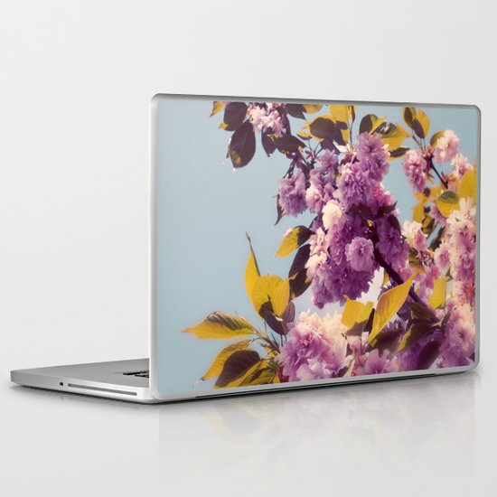 Vintage Blooms Laptop & iPad Skin