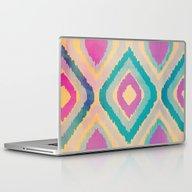 Laptop & iPad Skin featuring URBAN IKAT by Nika