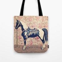 Vintage Horse  Tote Bag