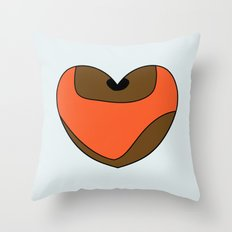 Wicket Character Heart Throw Pillow