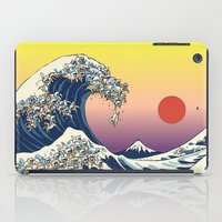 The Great Wave Of  Cat iPad Case