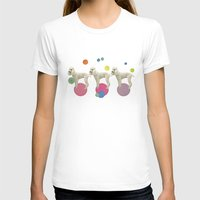 Oodles of Poodles Womens Fitted Tee White SMALL