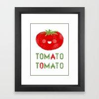Tomato-Tomato Framed Art Print