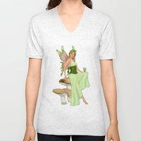 Absinthe the Green Fairy Unisex V-Neck