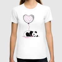 In Love Womens Fitted Tee White SMALL