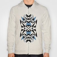 Abstract Kite Black And … Hoody