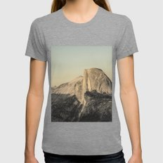 Half Dome IV Womens Fitted Tee Tri-Grey SMALL
