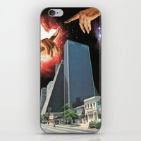 The Coming Of The Celest… iPhone & iPod Skin