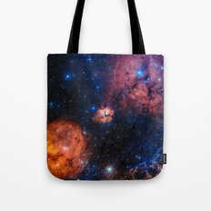 Celestial Star Formation Tote Bag