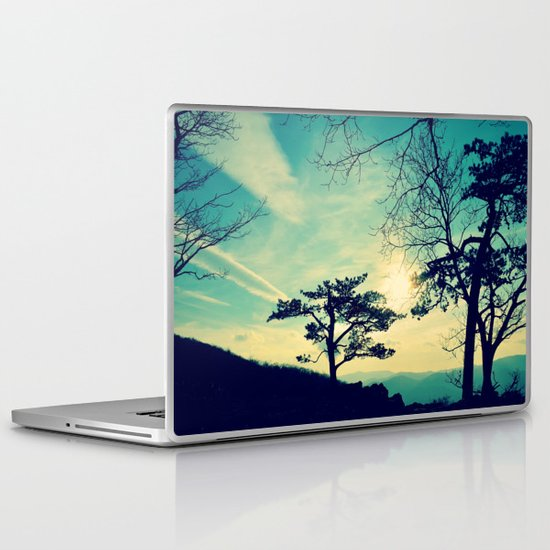 Love Lights the Sky Laptop & iPad Skin