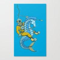 Deep Sea Hunting Canvas Print
