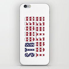 Stronger Together - Campaign Slogan  iPhone & iPod Skin