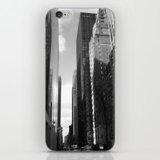 Reflection of the street iPhone & iPod Skin