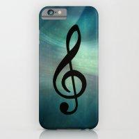 iPhone & iPod Case featuring Treble Clef by KunstFabrik_StaticMovement Manu Jobst