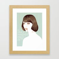 What A Wonderful Way To … Framed Art Print