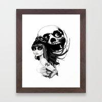 ✖ ソウルメイト (… Framed Art Print