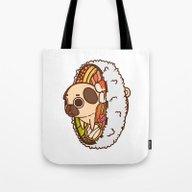 Tote Bag featuring Puglie Maki by Puglie