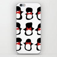 Penguins iPhone & iPod Skin