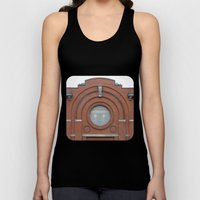 A Big Round Window Unisex Tank Top