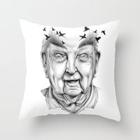 My life has been extraordinary Throw Pillow