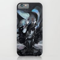 iPhone & iPod Case featuring The Carrion Widow from Below the Cliffs by Mark Facey