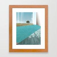 Atmosphere 26 · Floodla… Framed Art Print
