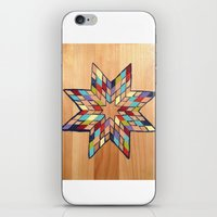 Star Quilt Block iPhone & iPod Skin