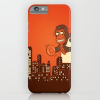 iPhone & iPod Case featuring monkey on your back by blackmask
