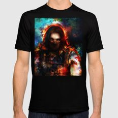winter one Mens Fitted Tee Black SMALL