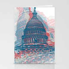 Capitol Crisis Stationery Cards
