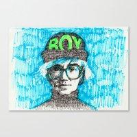 BOY - Andy Warhol Cultur… Canvas Print